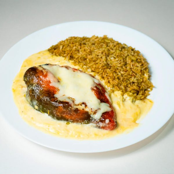 45. Chile relleno 4 quesos, Obento Gourmet
